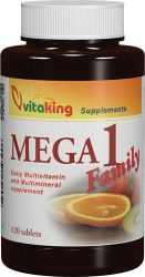 MEGA 1 FAMILY MULTIVITAMIN (Vitaking) 120 db